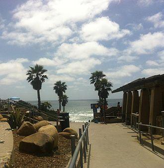Solana Beach, California - Fletcher Cove Community Park Beach Access, California in June 2013