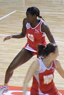 Sonia Mkoloma British netball player