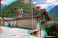 Sonogno. Strada dal Fórn. House with two chimneys. 2019-06-23 13-51-10 (anaglyph).jpg