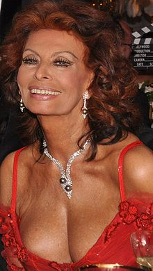 alt=Description de l'image Sophia Loren in London.jpg.