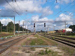 Priozersky District - Sosnovo railway station.