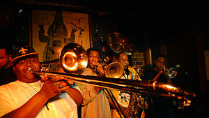 The Soul Rebels - When not on tour, the band's weekly gig at Le Bon Temps Roulé in Uptown New Orleans is a favorite local event