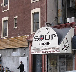 The Soup Nazi - The restaurant Soup Kitchen International was the inspiration for this episode of Seinfeld. The restaurant closed in 2004, but has since reopened.