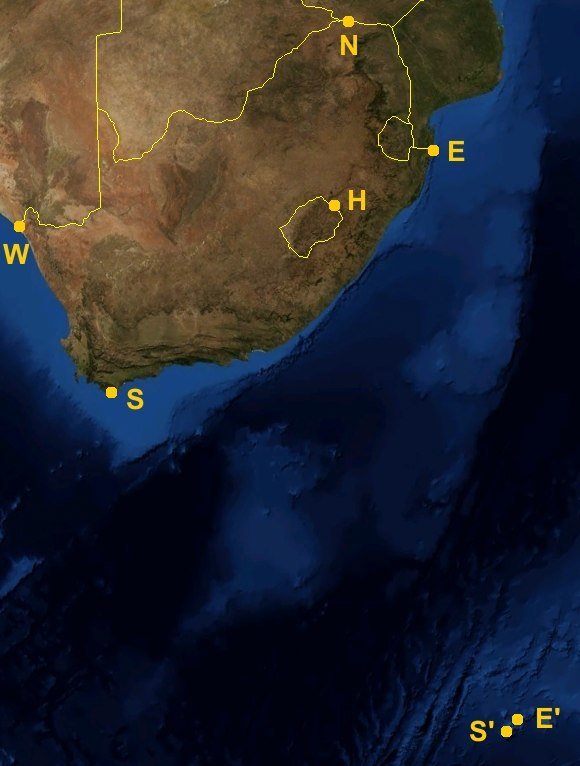 South Africa extremes