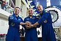 Soyuz MS-13 crew at the Gagarin Cosmonaut Training Center in Star City.jpg