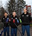 Soyuz TMA-11M crew departs Star City.jpg