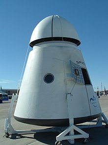 SpaceX Dragon - 2007 X-Prize Cup.JPG