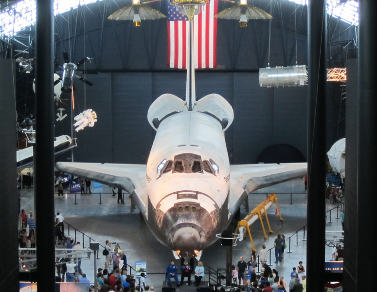 space shuttle discovery hazy - photo #21