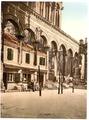 Spalato, Diocletian's Palace, the Peristyle, Dalmatia, Austro-Hungary-LCCN2002710818.tif