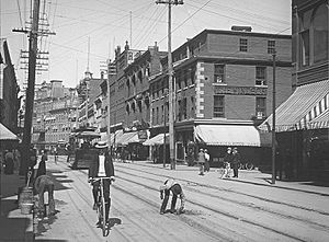 Sparks Street - Sparks Street in 1901