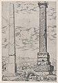 Speculum Romanae Magnificentiae- Column of Antoninus and a Roman Obelisk MET DP870469.jpg