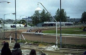Oxford Stadium - Speedway at Oxford in 1981