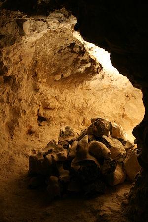 Neolithic flint mines of Spiennes - Image: Spiennes Minières néolithiques de silex (2)