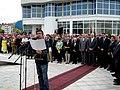 Spomenik Djindjicu 01 08 2007 Sergej Trifunovic.jpg