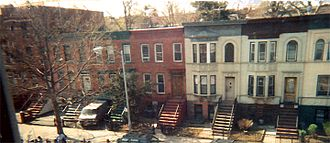 Crown Heights, Brooklyn - Typical Crown Heights row houses