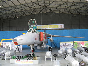 Sri Lanka Air Force - A Mig-27 of the No. 12 Squadron.