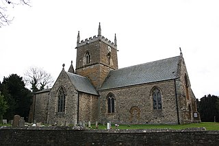 Riby village in Lincolnshire, England