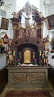 St. Johann am Wimberg, Heiliges Grab am Karsamstag.jpg