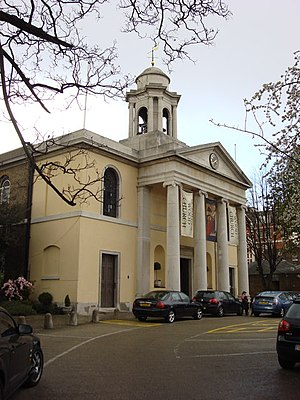 English: St. John's Wood Church