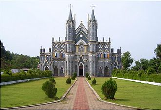 Captivity of Mangalorean Catholics at Seringapatam - The St. Lawrence Church in Karkala was destroyed by Tipu Sultan.