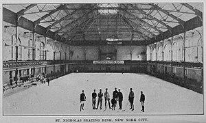 St. Nicholas Hockey Club - St. Nicholas Skating Rink, home arena of the St. Nicholas HC.