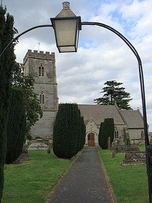 George Wilson Bridges - Bridge's church in Maisemore.