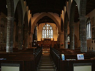 St Olave's Church, York - Image: St Olavesinterior