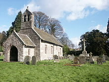 St. Aeddans Kirchhofkreuz, Bettws Newydd - geograph.org.uk - 645007.jpg