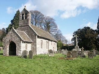 Bettws Newydd - Image: St Aeddan's churchyard cross, Bettws Newydd geograph.org.uk 645007