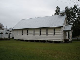 St Andrews Presbyterian Church, Esk - St Andrews Presbyterian Church, side view