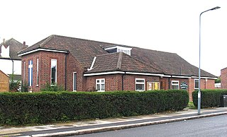St Cedds Church, Ilford church in London Borough of Redbridge, UK