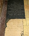 St Edmund's church - C17 ledger slabs - geograph.org.uk - 1352188.jpg