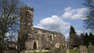 St James Parish Church, Wetherby Church in West Yorkshire, England