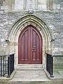 St Mary Magdalene The Parish Church of Clitheroe, Doorway - geograph.org.uk - 743687.jpg