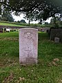 St Mary the Virgin's parish churchyard, Hawksbury Upton, Gloucestershire, Gravestone of Private Sidney Deacon.jpg