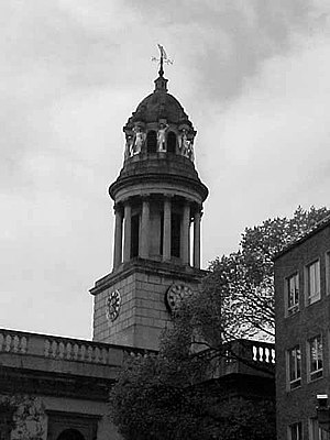 Marylebone - St Marylebone Parish Church.