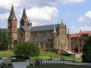 Southern Indiana - St. Meinrad Archabbey is located in Spencer County in Southern Indiana.