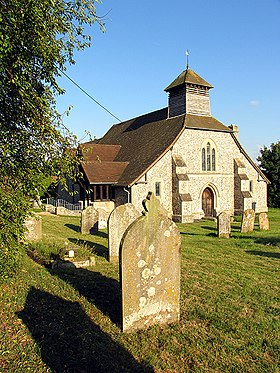 St Michael's Church, Enborne - geograph.org.uk - 50341.jpg