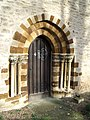 St Michael's Church Doorway at Farndish - geograph.org.uk - 315512.jpg