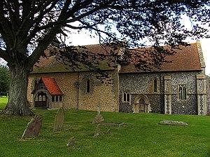 Beedon - Image: St Nicholas, Beedon geograph.org.uk 34263