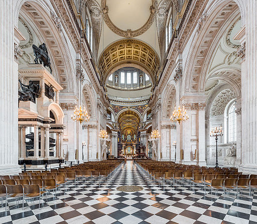 St Paul's Cathedral Nave, London, UK - Diliff