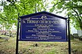 St Thomas' Church, Newhey, Sign - geograph.org.uk - 619474.jpg