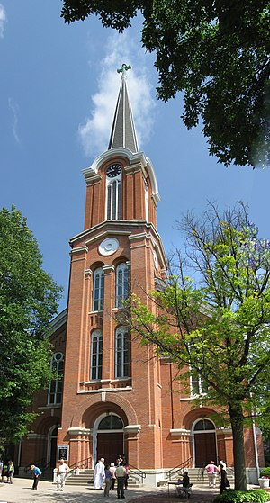 St. Mary's Church and Rectory (Iowa City, Iowa) - Image: St marys iowa city