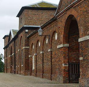 Burton Constable Hall - Stable block