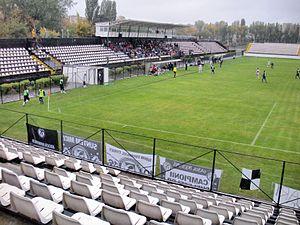 Stadionul Regie - Image: Stadium Regie Sportul Bucuresti 1