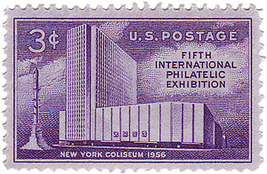 New York Coliseum - Coliseum commemorative stamp