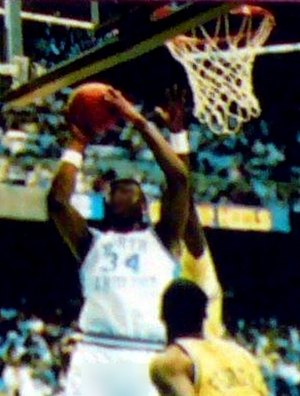 J. R. Reid - Reid playing for the North Carolina Tar Heels men's basketball team in 1987–88