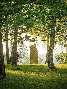 Standing Stone at the Nycklabacken Burial Ground.jpg