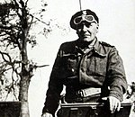General Stanisław Maczek, Polish general, one of the early developers of anti-blitzkrieg tactics