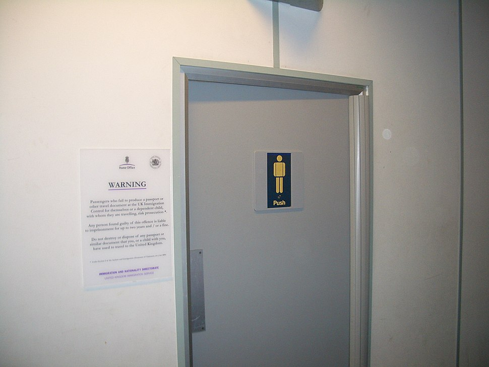 Stanstead-toilet-door-with-Home-Office-warning-1883